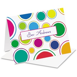 Fanciful Personalized Notecards