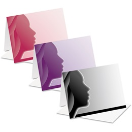Woman Profile Notecards
