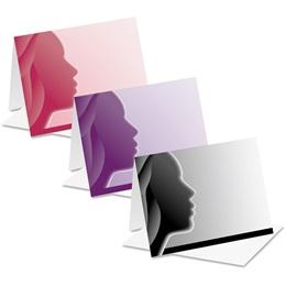 Woman Profile Notecards