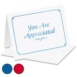 You Are Appreciated Specialty Notecards