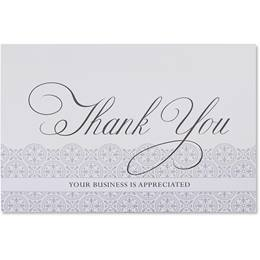 Business Thank You Greeting Card