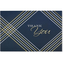 Thank You Geometric Greeting Card