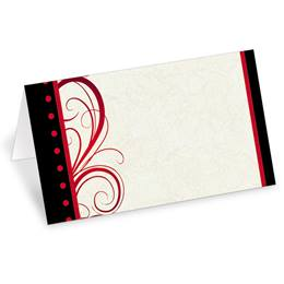 Entice Folded Place Cards