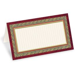 Formal Party Folded Place Cards