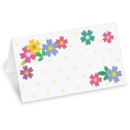 Wild Flowers Place Cards