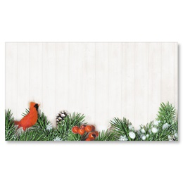 Fir Tree Friend Flat Place Cards
