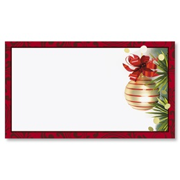 Christmas Twilight Flat Place Cards