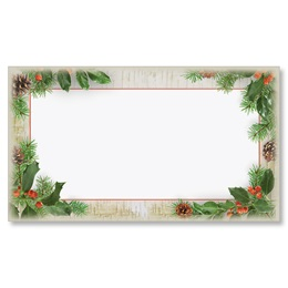 Woodland Whimsy Flat Place Cards