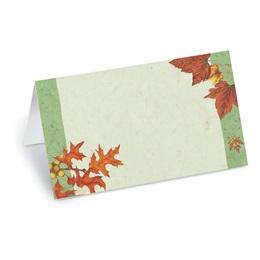 Thankful Season Folded Place Card