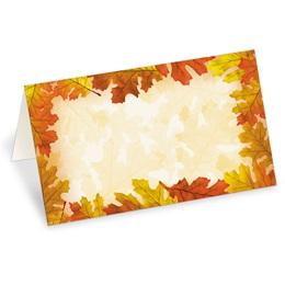 Autumn Abundance Folded Place Cards