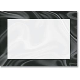 Black Tie Reception Card
