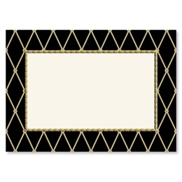 Supreme Black Reception Card