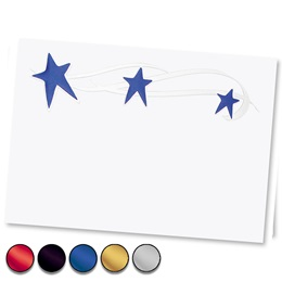 Stars Specialty Reception Cards
