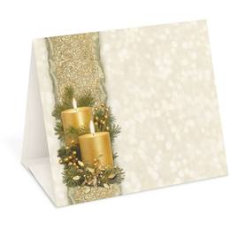 Golden Glimmer Table Tents