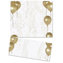 Gold Balloons LetterTop Certificates