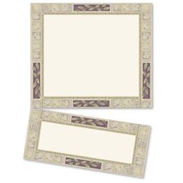 Earthtone Tiles LetterTop Certificates
