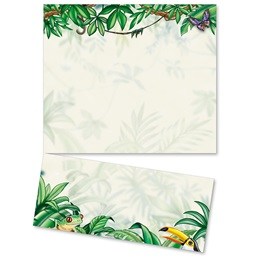 Rain Forest LetterTop Certificates