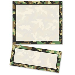 Camouflage LetterTop Certificates
