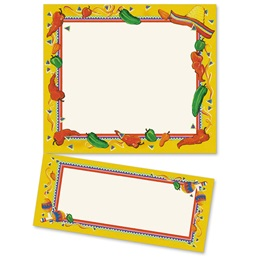 Chili Pepper Party LetterTop Certificates