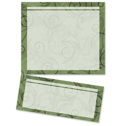 Viridian Scroll LetterTop Certificates