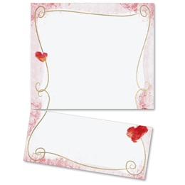 Adorable Hearts LetterTop Certificates