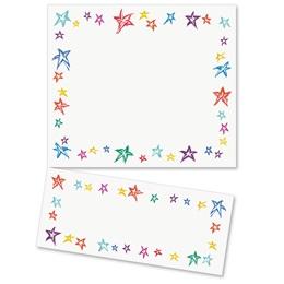 Festive Stars LetterTop Certificates