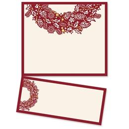 Intricate Wreath Specialty LetterTop Certificate
