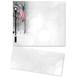 Patriotic Park Scene Printable LetterTop Certificates
