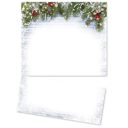Snowy Sentiment LetterTop Certificates