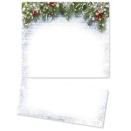 Snowy Sentiment LetterTop Certificates