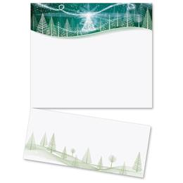 Winter Solstice Specialty LetterTop Certificates