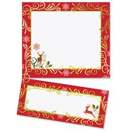 Holiday Potpourri Specialty LetterTop Certificates
