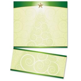 Christmas Tree Glee LetterTop Certificates