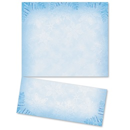 Snowflake Crystals LetterTop Certificates