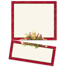Woodland Candle LetterTop Certificates