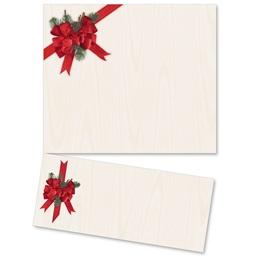 Pine Bow LetterTop Certificates