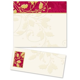 Swirls of Holly LetterTop Certificates