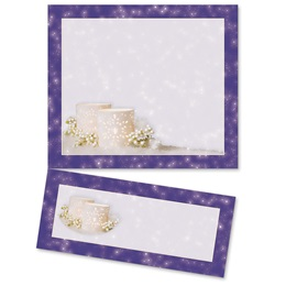 Winter Twilight LetterTop Certificates