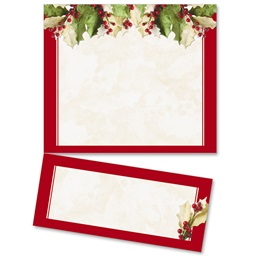 Holly Christmas LetterTop Certificates