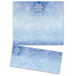 Winter Snow LetterTop Certificates