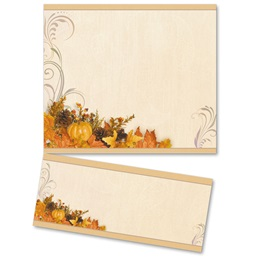 Swirls of Autumn LetterTop Certificates