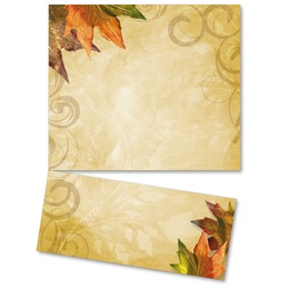 Fall Brilliance LetterTop Certificates