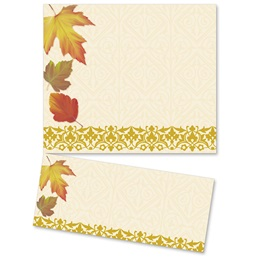 Fall Fancy LetterTop Certificates