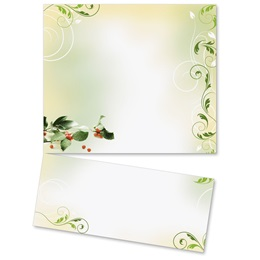 Holiday Holly LetterTop Certificates