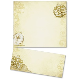 Golden Filigree LetterTop Certificates