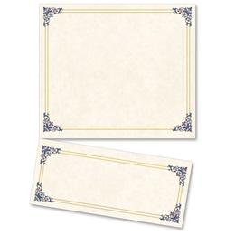 Renaissance Blue LetterTop Certificates