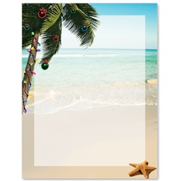 Tropical Christmas Border Papers