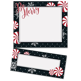 Merry Days of the Season Lettertop Certificate