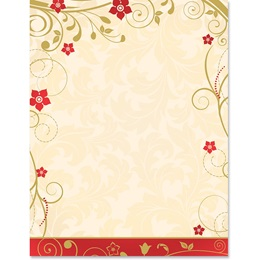 Christmas Joy Specialty Border Paper