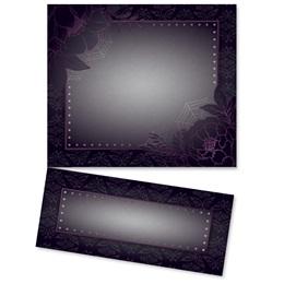 Elegant Flower Lettertop Certificate